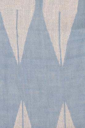 Becksöndergaard | Sjaal Satin | blauw en wit