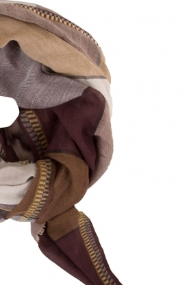 Scarf Trinette | brown
