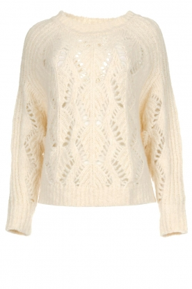 ba&sh |  Knitted sweater Pavot | natural