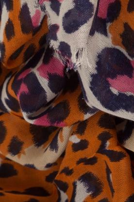 Becksöndergaard | Sjaal Leopra | oranje