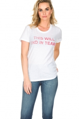 Zoe Karssen | T-shirt End in Tears| wit