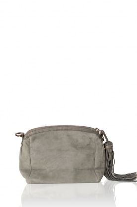 Leather shoulder bag Adrienne | green