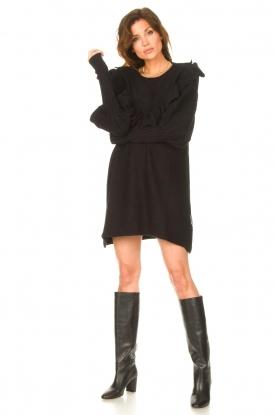Look Sweater dress wtih ruffles Rigel