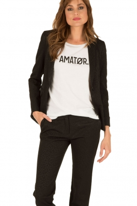 Amatør | Blazer Honey | zwart