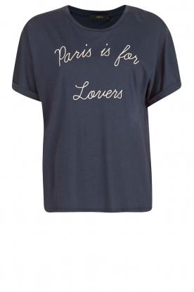 T-shirt Céra | Blauw