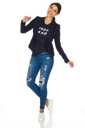 Zoe Karssen | T-shirt Wonderland | donkerblauw