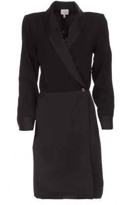 Dante 6 Blazer jurk Marigold  zwart