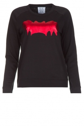 Zoe Karssen | Luxe trui Bat | rood