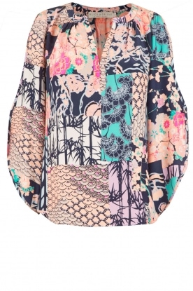 Alice & Trixie |  Silk blouse Olivia | multi