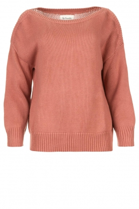 Les Favorites | Knitted sweater Sabina | pink