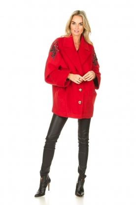 Look Coat with rhinestones Kellaf
