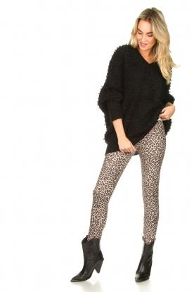 Look Leopard printed legging Vallery