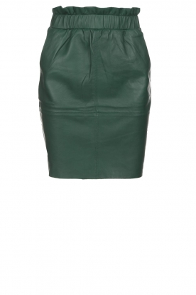 Dante 6 |  Leather skirt Staci | green