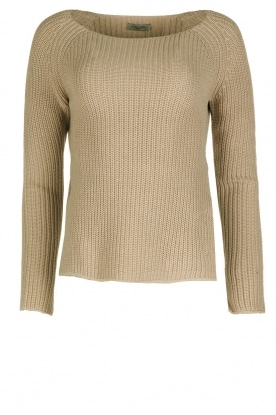 Hunkydory |  Knitted sweater Boyed | green