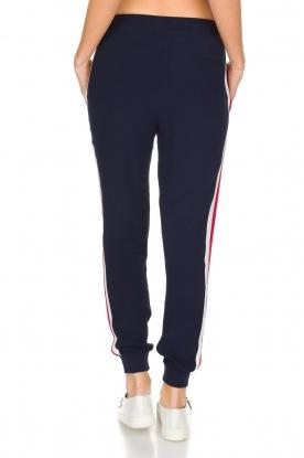 Zoe Karssen | Sportieve broek Tuxedo | donkerblauw