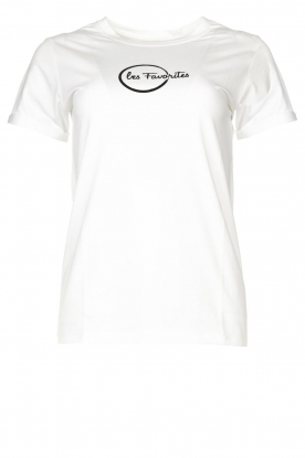 Les Favorites | Logo T-shirt Bobbi | white