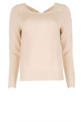 Hunkydory |  Fine knitted sweater Alexa | camel