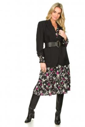 Look Printed midi dress Ella