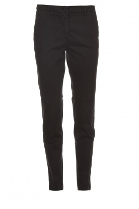 MASONS |  Chino pants New York | black