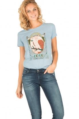 Leon & Harper | T-shirt Coco | blauw