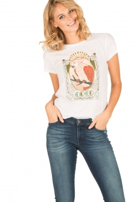 Leon & Harper | T-shirt Coco | wit