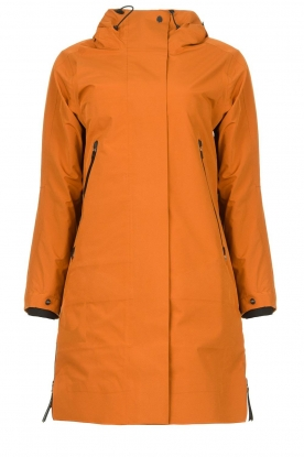 Krakatau | Parka with detachable quilted Liner | orange