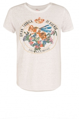 Leon & Harper |  T-shirt Bee | white