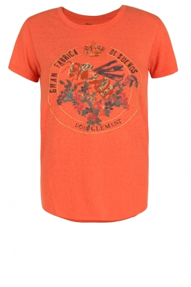 Leon & Harper |  T-shirt Bee | orange