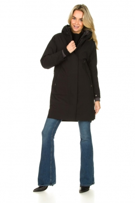 Look Parka with black detachable quilted Liner