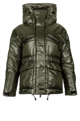 Krakatau | Down jacket Larsen | green