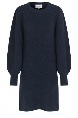 Second Female |  Knitted sweater dress Kalliroi | blue