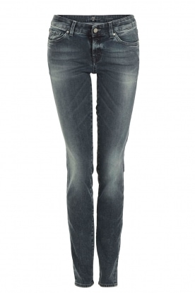 7 For All Mankind | Skinny jeans Cristen lengtemaat 32 | blauw