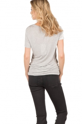 T-shirt French Kissing | grey