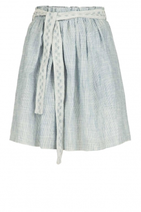 Leon & Harper |  Short skirt July | blue