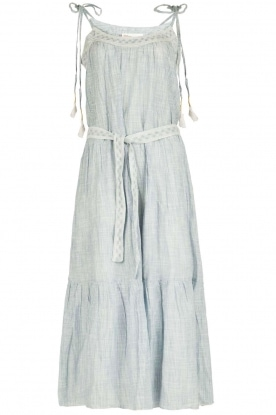 Leon & Harper |  Maxi dress Reine | blue