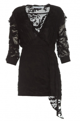 IRO |  Dress with embroideries Famous | black