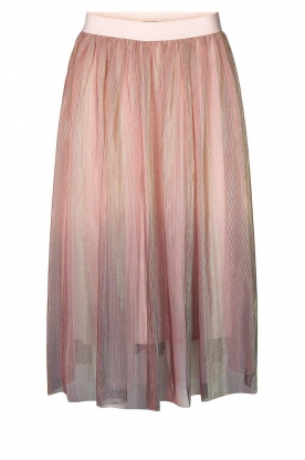 Lolly's Laundry | Midi pleated skirt Milton | pink