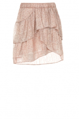 IRO |  Glitter skirt with ruffles Huge | pink