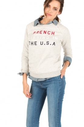 Sweater French Kissing | grey