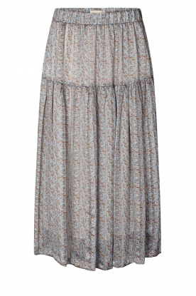 Lolly's Laundry | Maxi printed skirt Cokko | blue