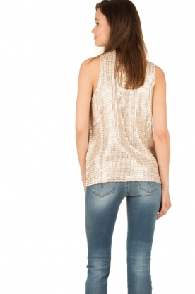 Hunkydory | Pailletten top Clayton | goud