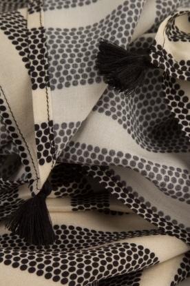 Dante 6 | Sjaal Ginsa | zwart/wit