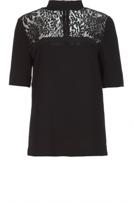 Dante 6 |  Top with lace Ferris | black