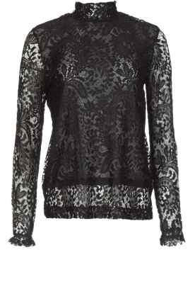 Dante 6 |  Lace top Olivet | black