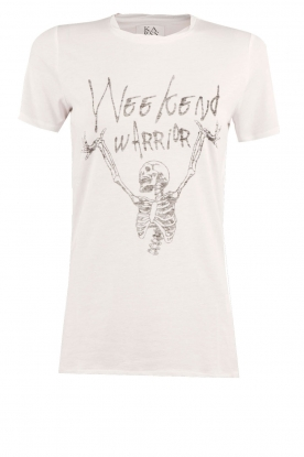 Zoe Karssen | T-shirt Weekend Warrior | wit