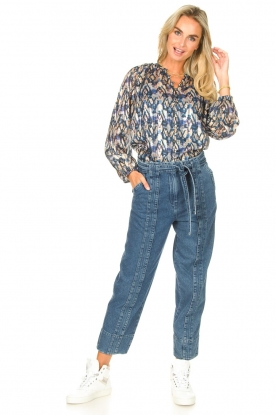 Second Female |  Straight leg jeans Jeanie | blue