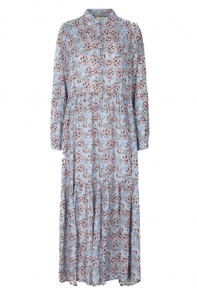 Lolly's Laundry | Floral printed maxi dress Penny | blue