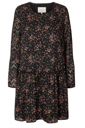 Lolly's Laundry | Floral dress Gili | black
