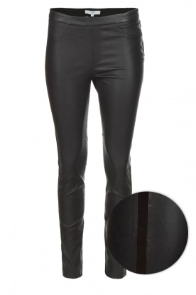 Dante 6 |  Lambs leather leggings | black