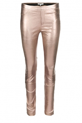 Dante 6 |  Lamb leather leggings Tyson | metallic
